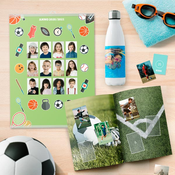 Sport Articoli per lo sport personalizzati con le foto più belle